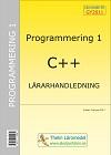 Programmering 1 med C++ - Lärarhandledning inkl USB av Krister Trangius