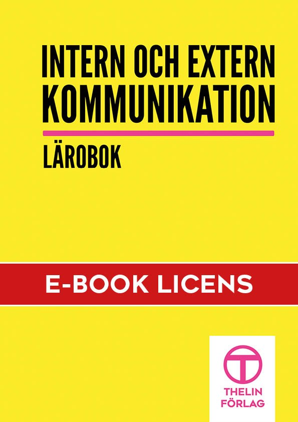 Intern och extern kommunikation - Lärobok eBooks